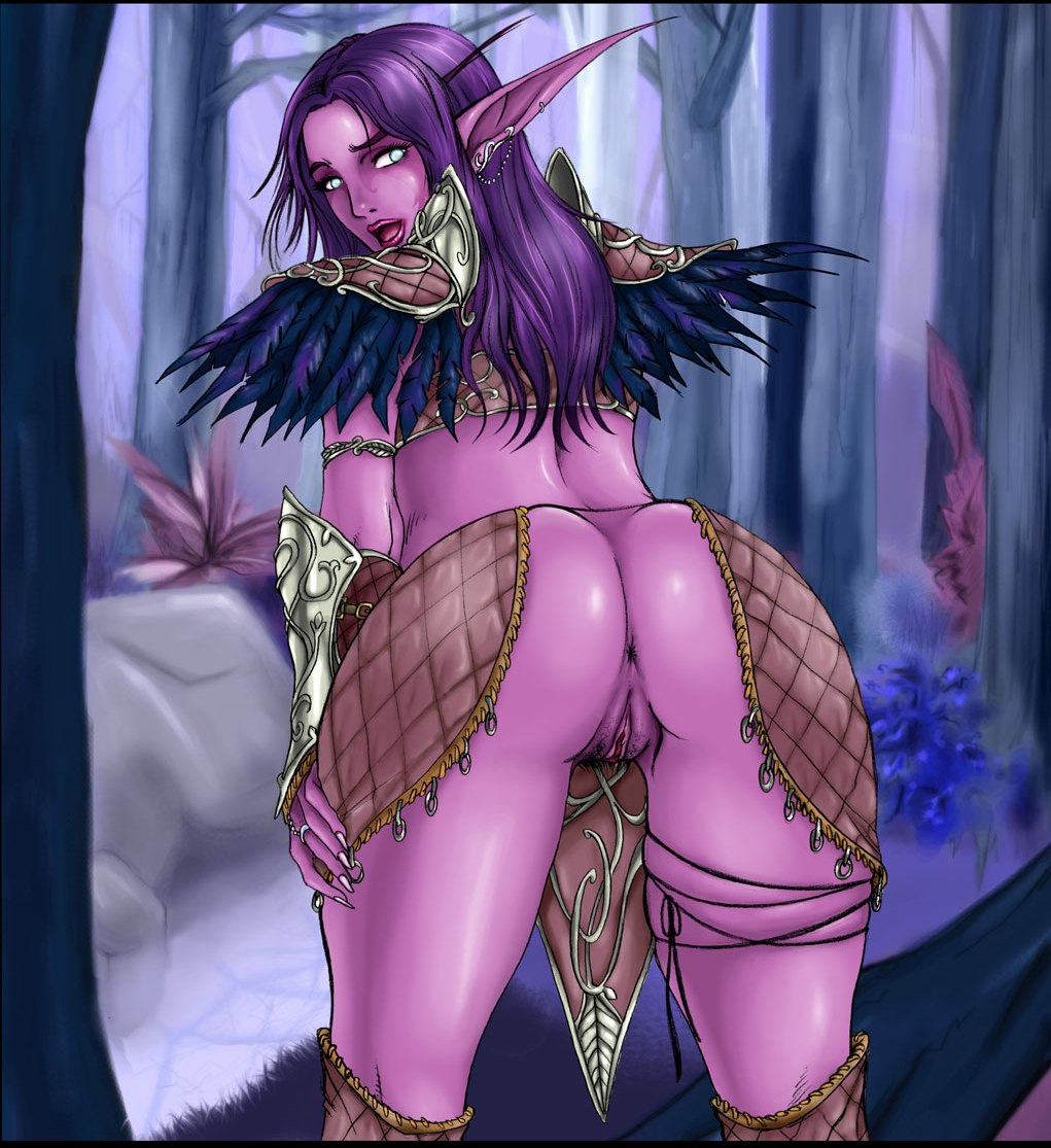 World of warcraft night elf girls sex  erotic scene