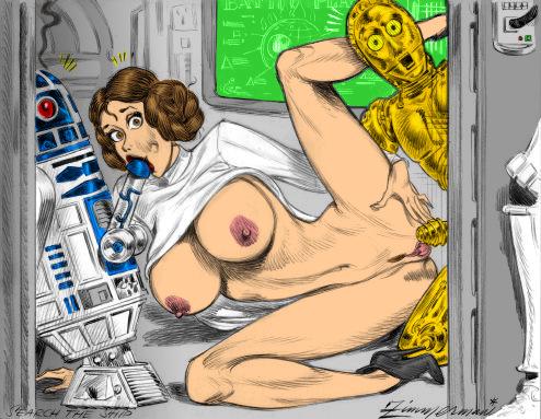принцесса лея порно комикс