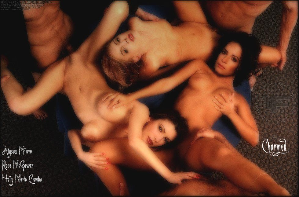 Naked phoebe naked phoebe halliwell — photo 3