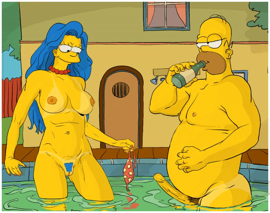 Simpsons sex photo