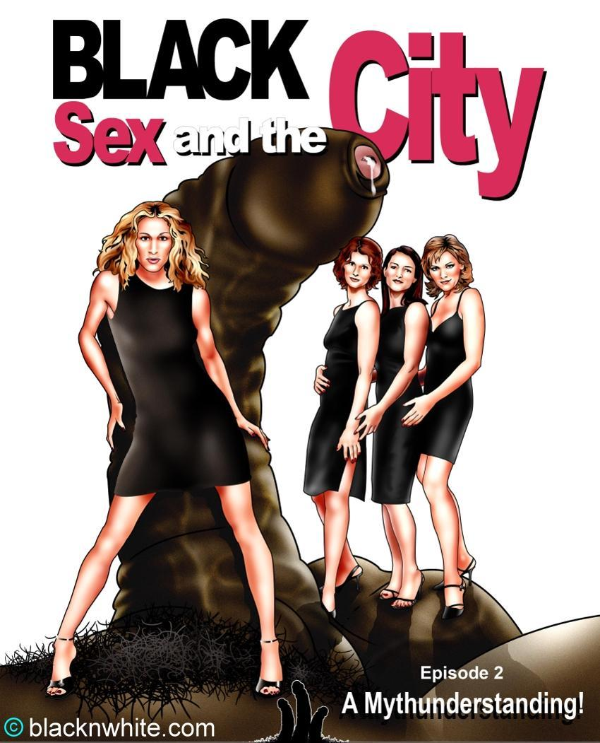 Carrie_bradshaw charlotte_york comic miranda_hobbes samantha_jones sex_and_the