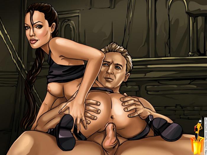 Порно мультики лара крофт новые
