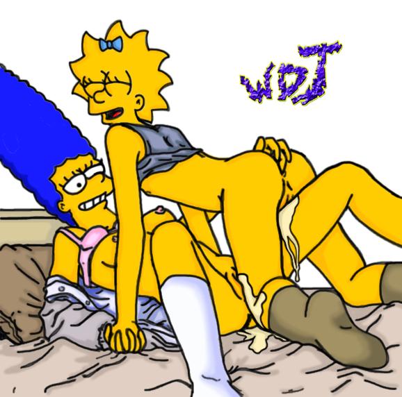 Порно игра симпсоны мэгги