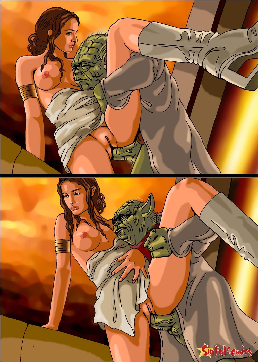 Порно картинки звездные войны