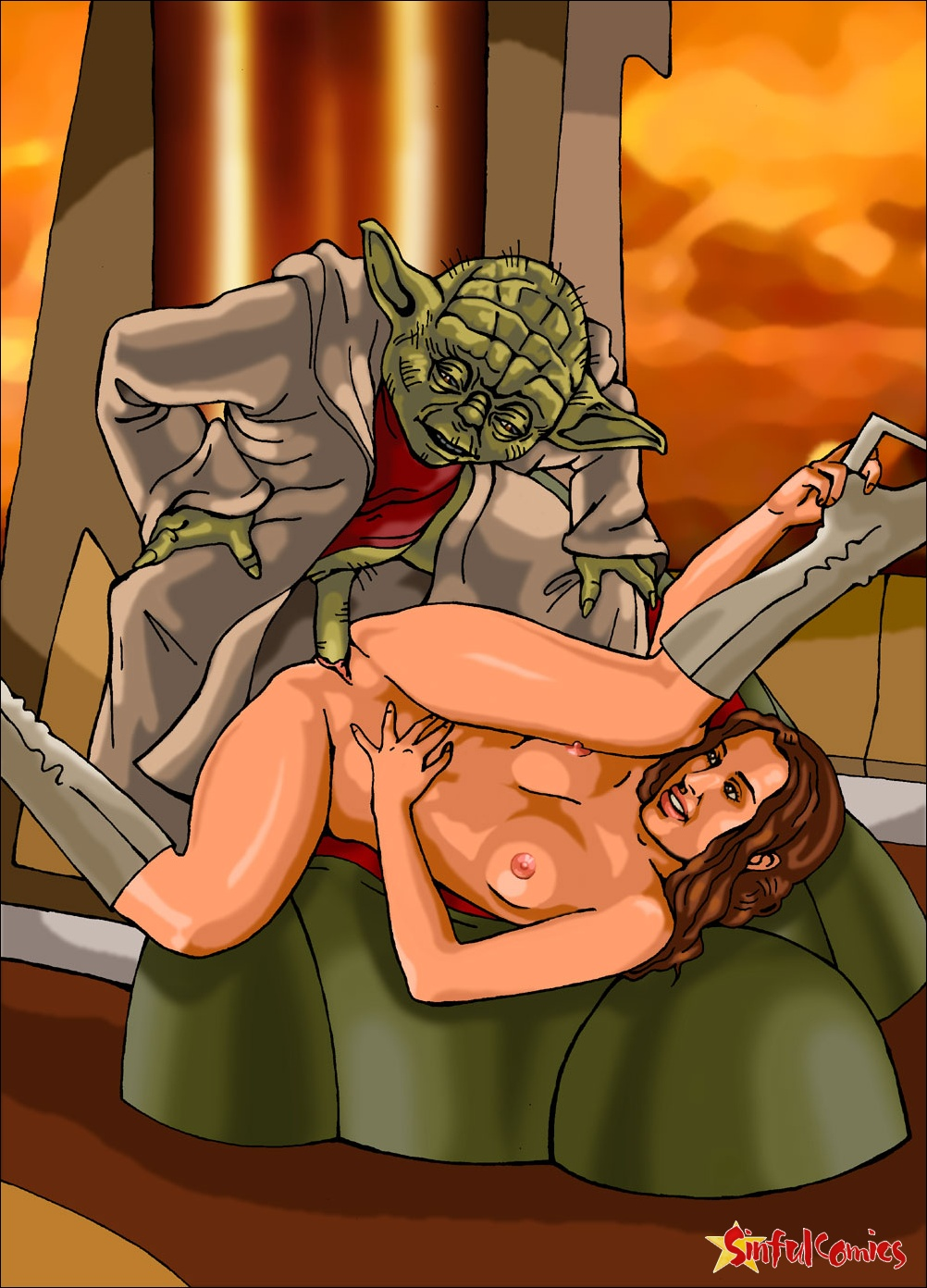 Padme real nude pic sexy comics