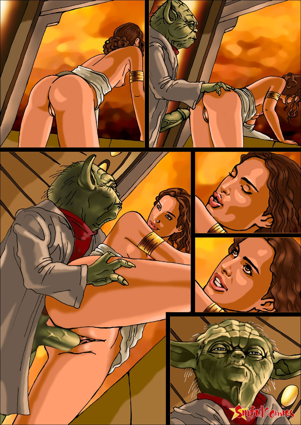 Mom padme amidala porn comic bideo free