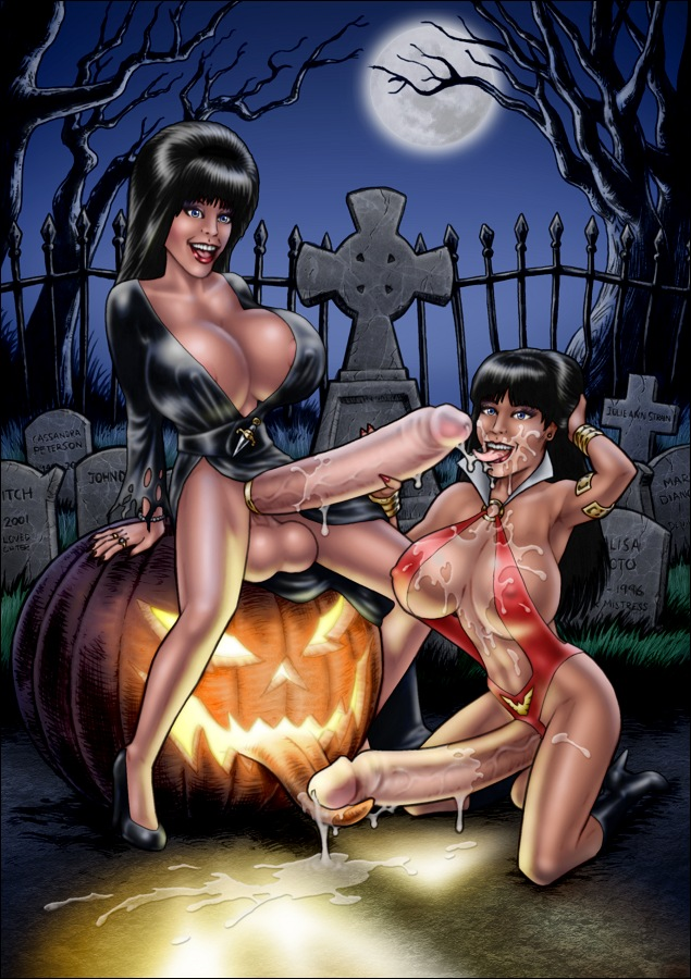 Elvira high-heeled_jill tagme vampirella.