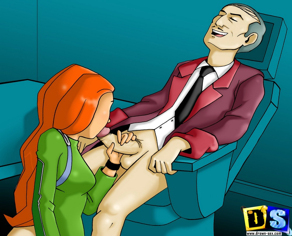 Cartoon porn with clover nudes scenes