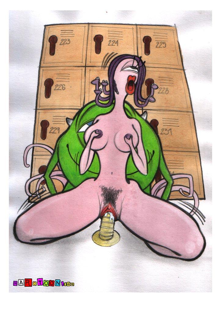 Порно комиксы корпорация монстров