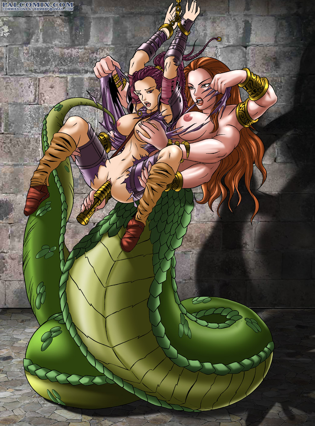 Sexy dungeons and dragons porn cartoon scenes