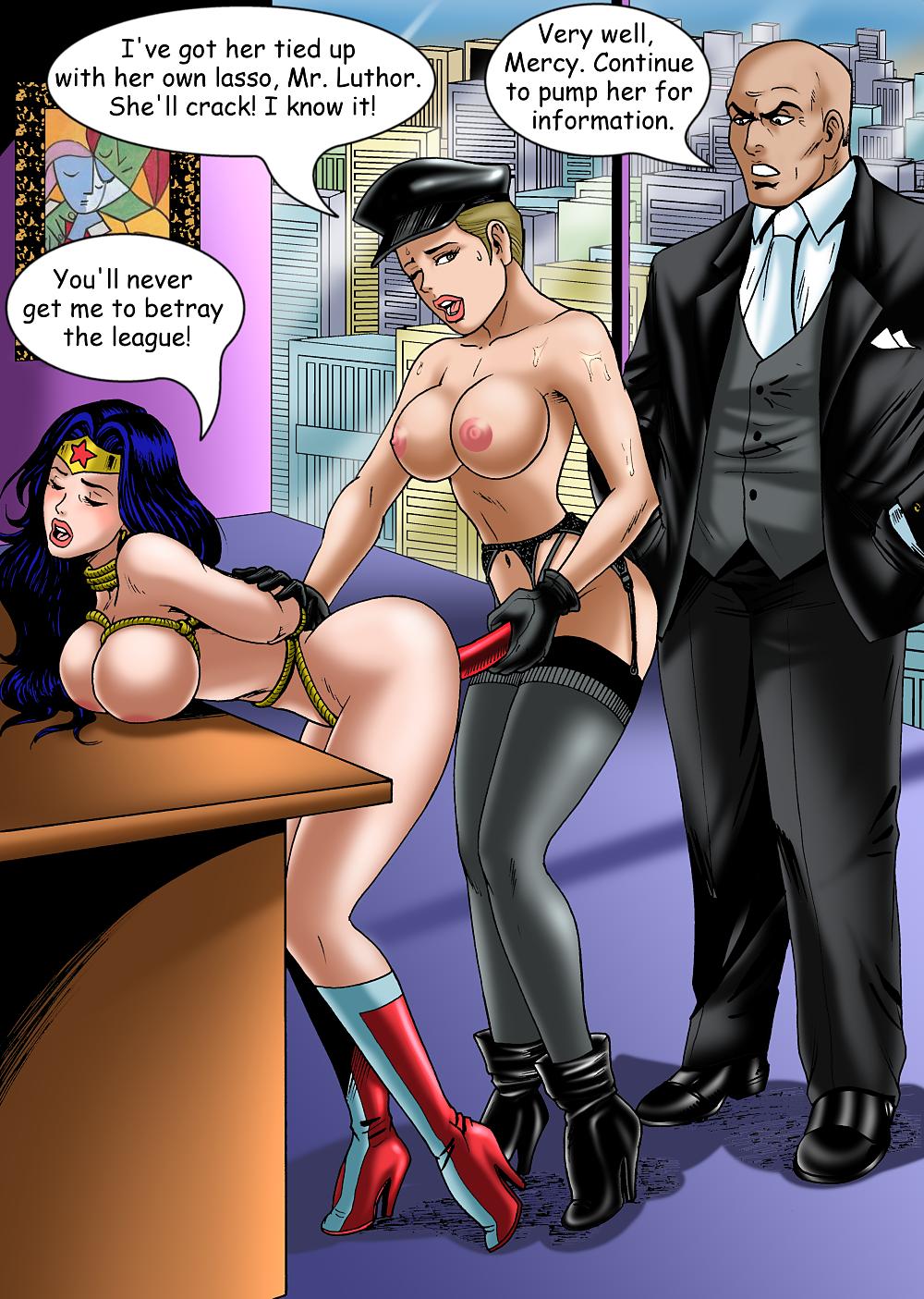 Wonder women hentai porn wallpaper nudes photos
