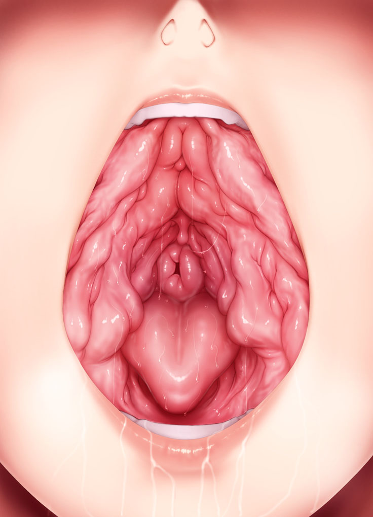 Vagina mouth hentai
