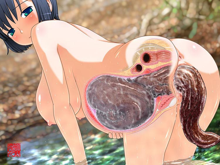 Worms in pussy