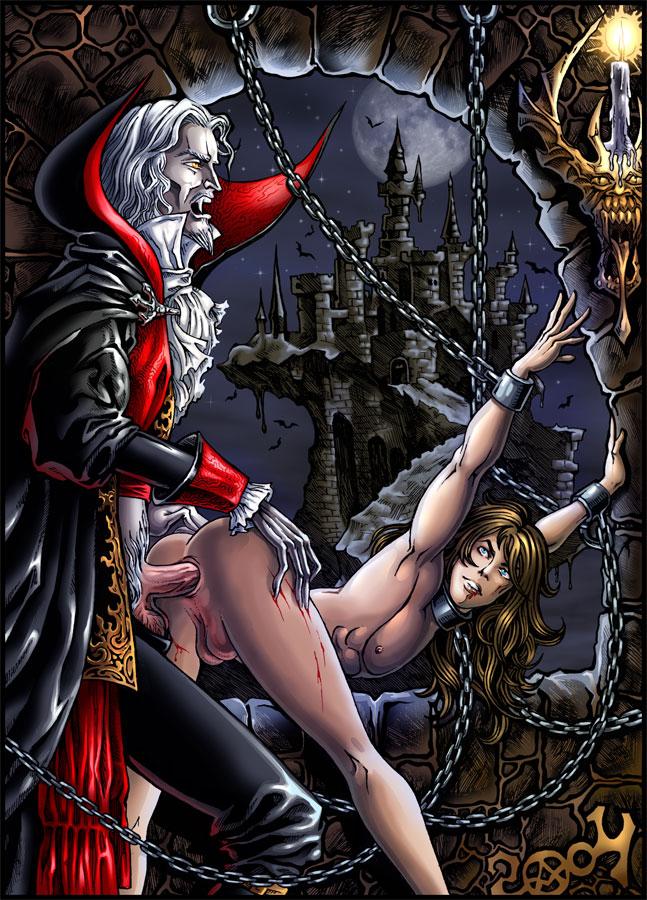 порно вампиры на дракула русском