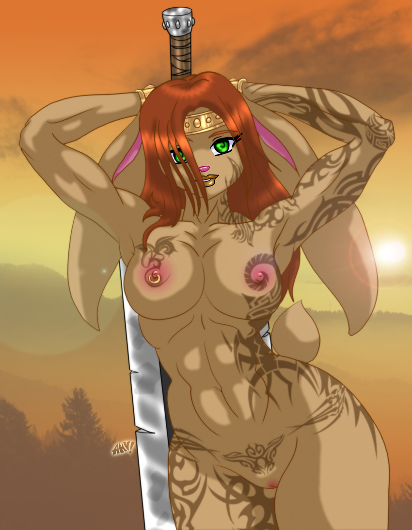 Warrioress nude fuck naked pic