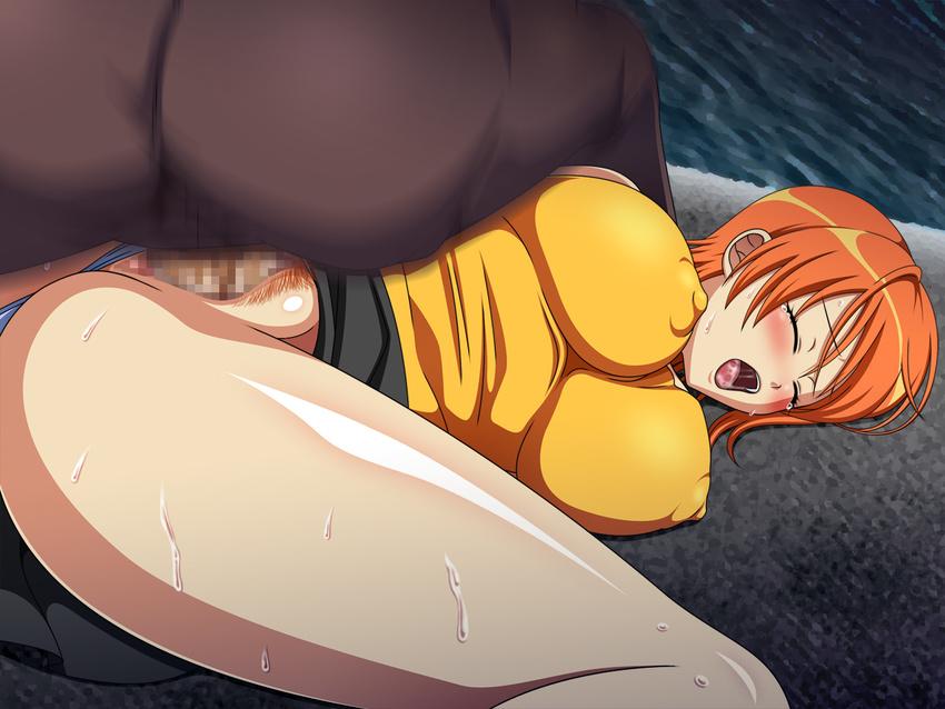 кончил нарезка аниме