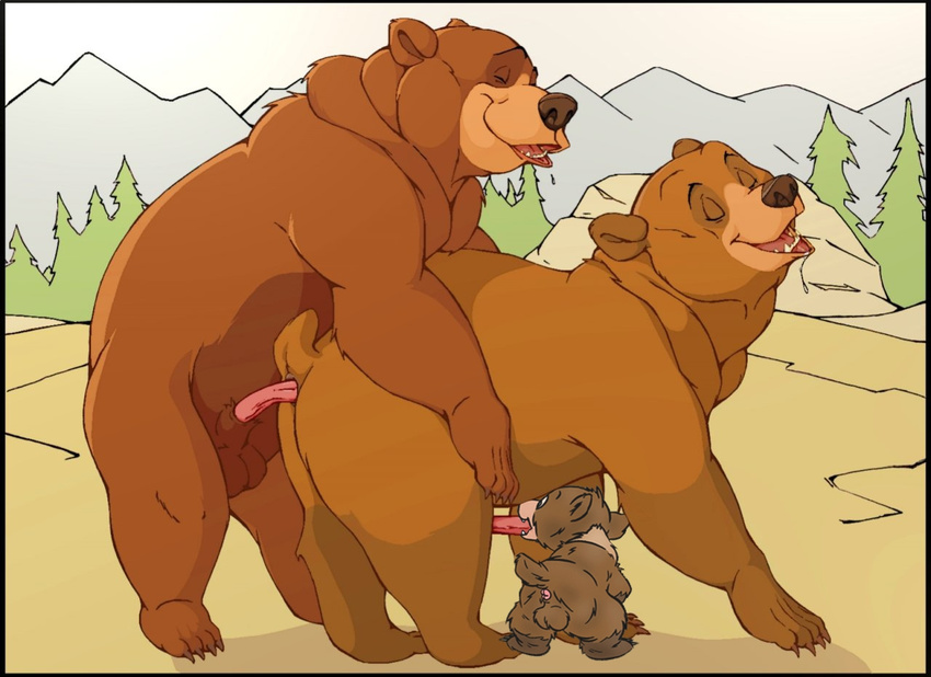 Гей секс фото медведи 4478 фотография