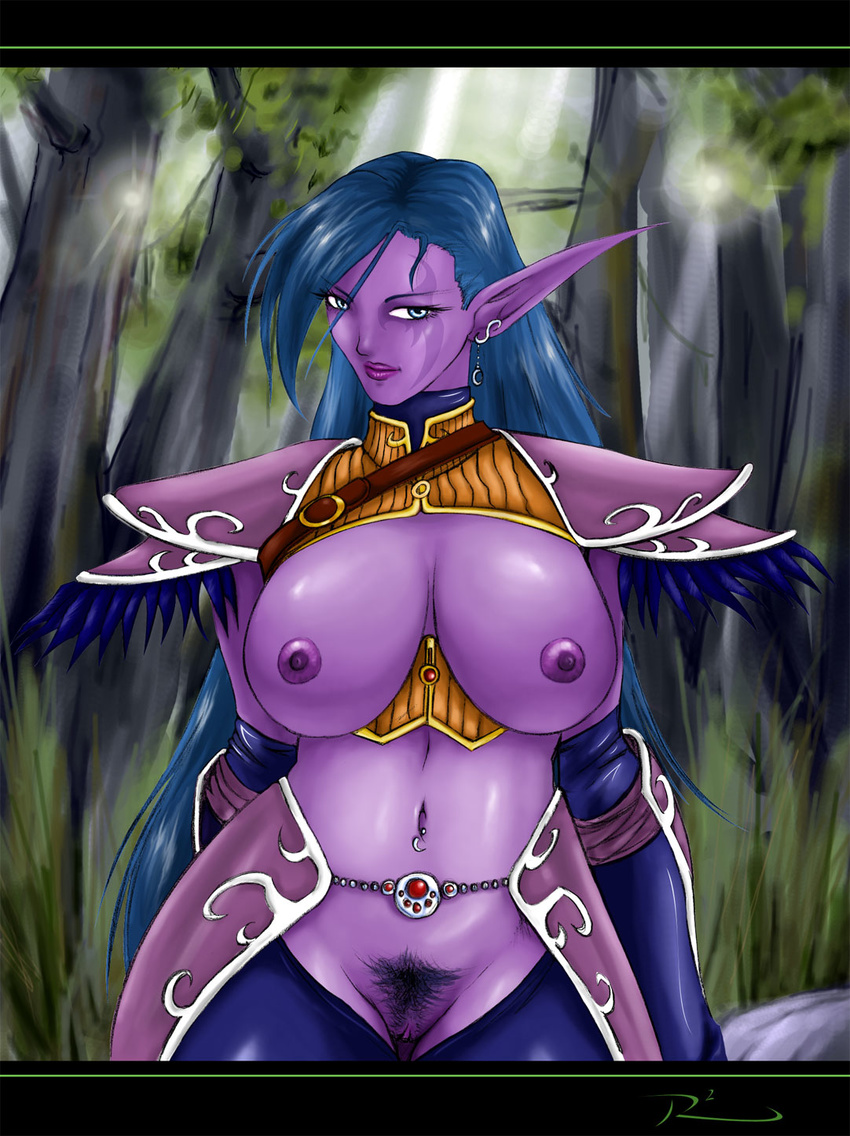 Night elf hentia nude comic