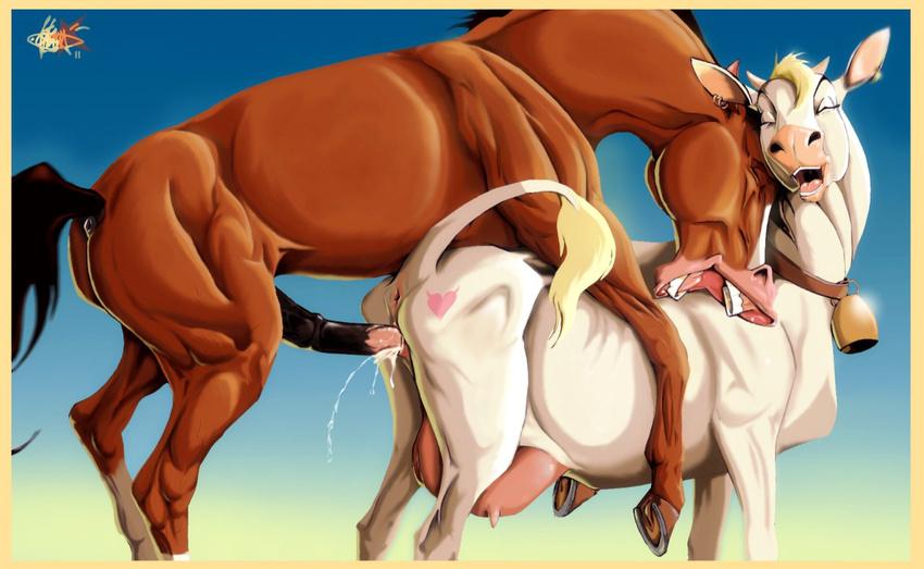 порно коров картинки