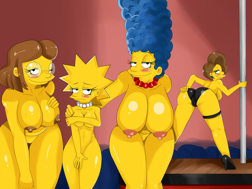Marge and lisa simpson nude