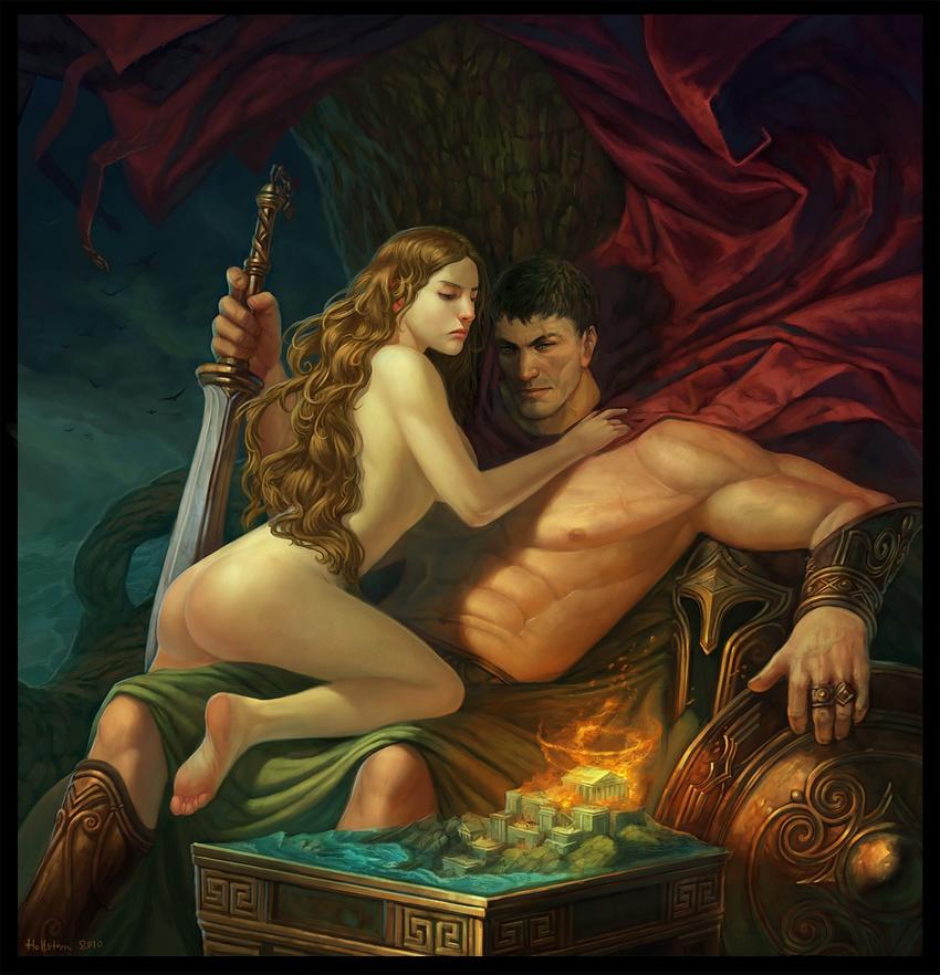 Greek goddess of beauty having sex — pic 10