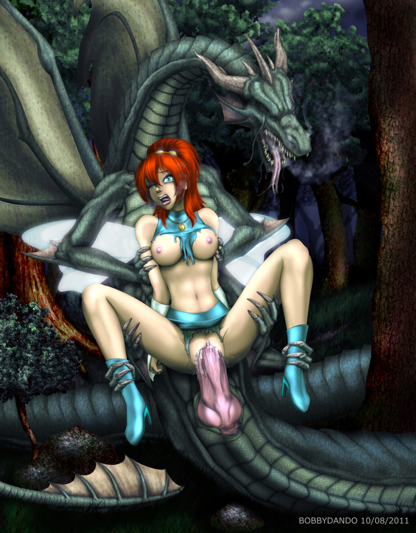Free fairy and dragons sex hentai video
