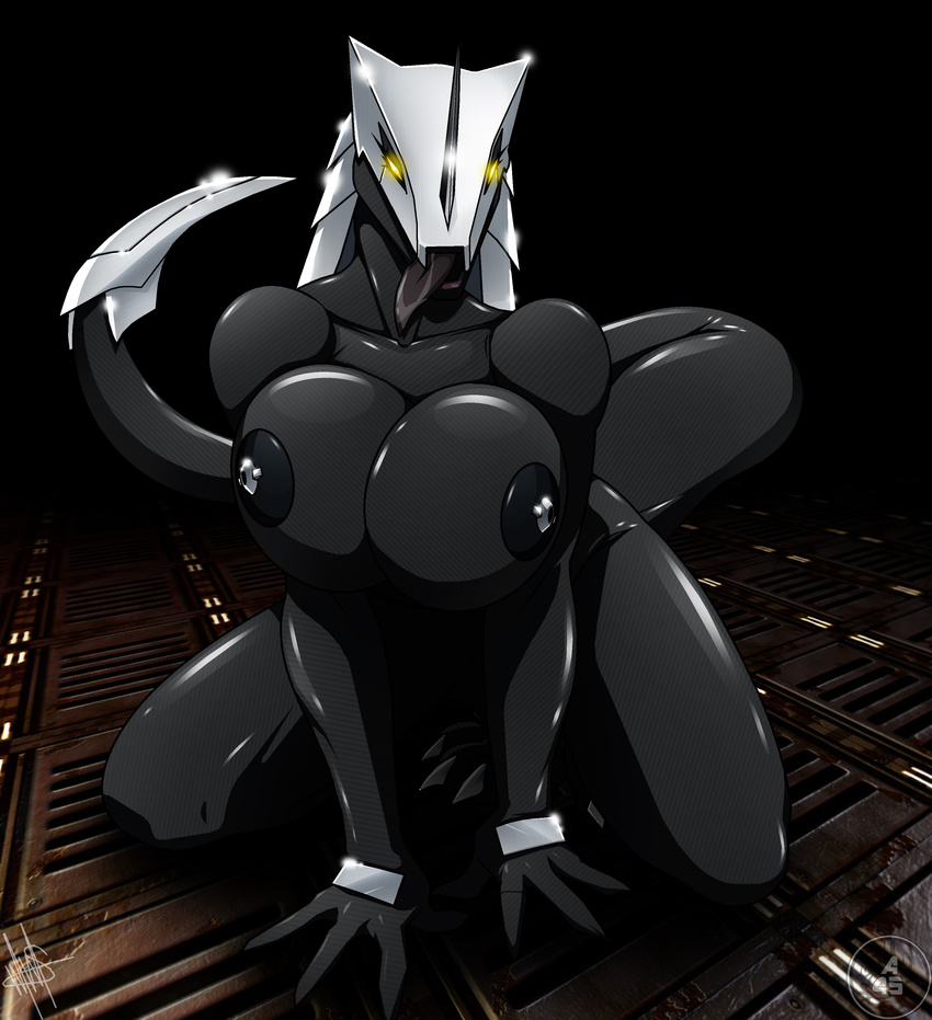 Sexy female robot hentai exploited pussy