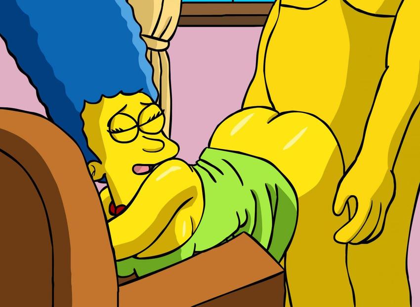 Гомер Трахает Мардж Картинка