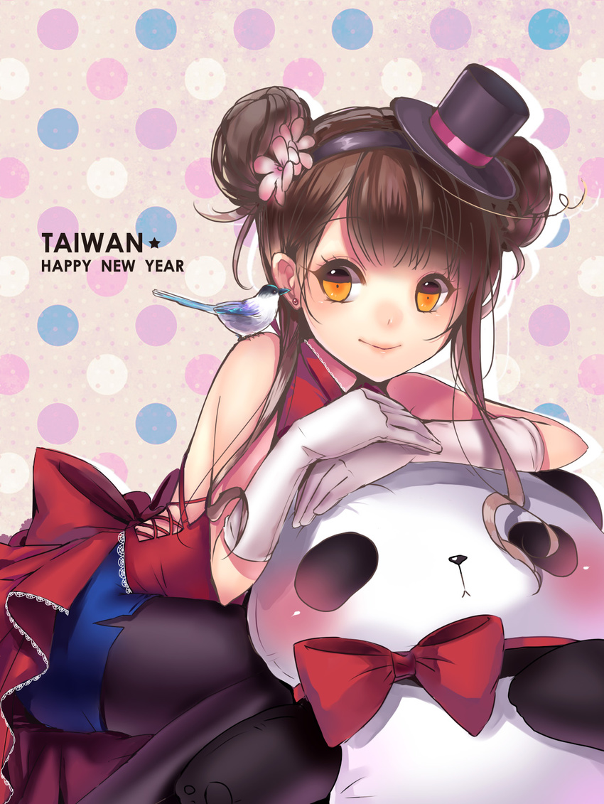 Фото аниме девушка панда