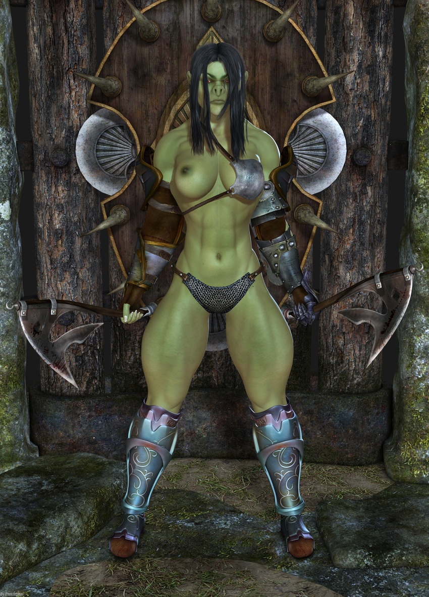 Orc warrior female