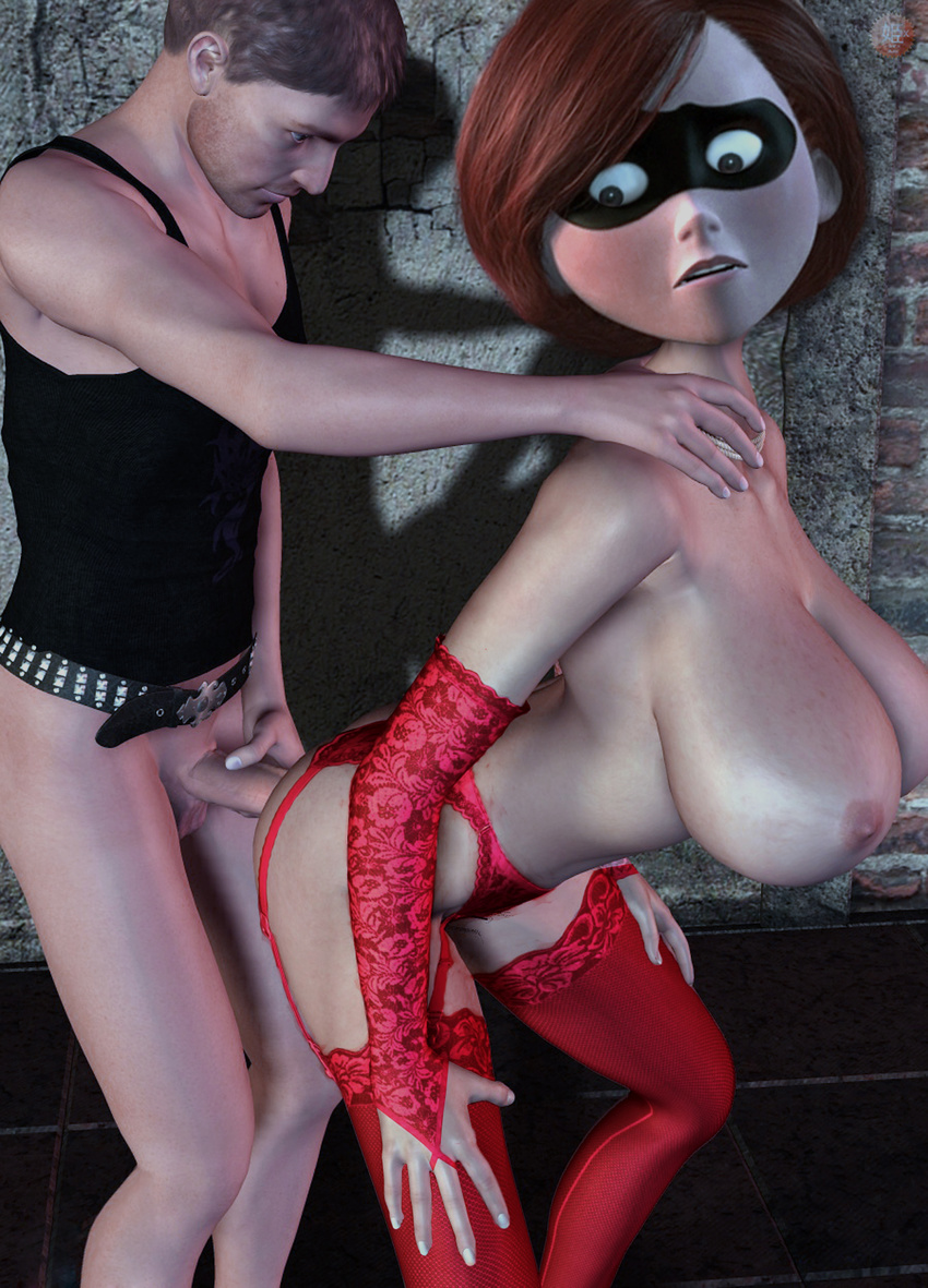 Incredibles xxx 3d naked tube