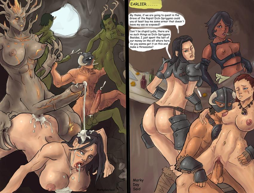 скайрим комиксы секс