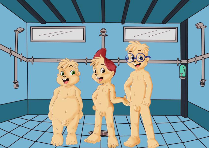 The chipmunks nude