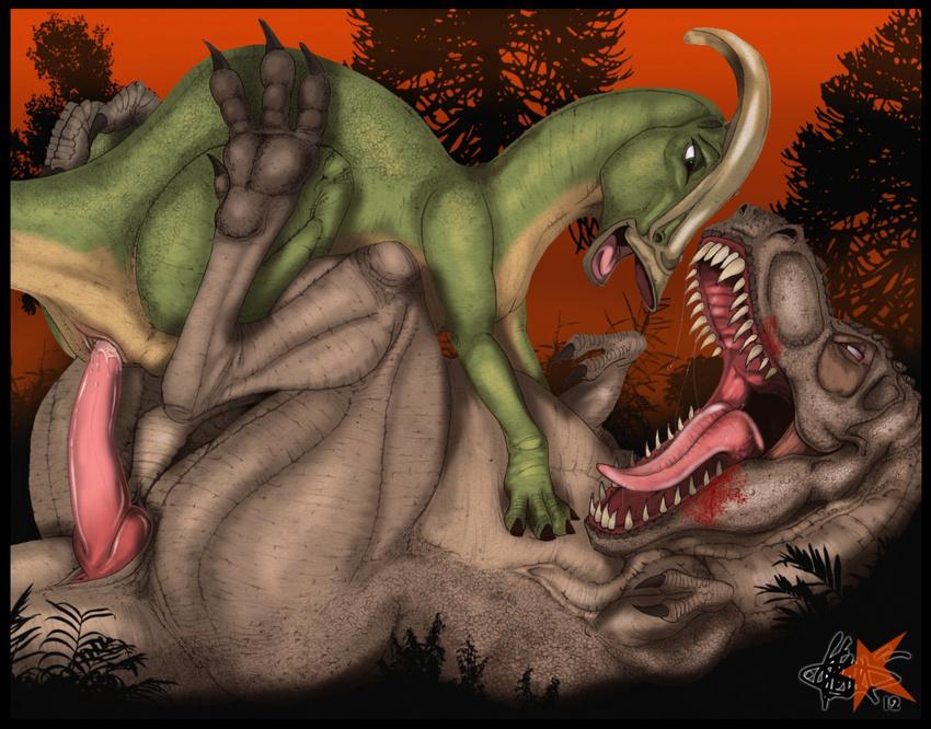 Dinosaur sex organs