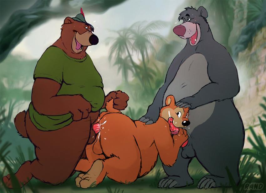 Медведь анал