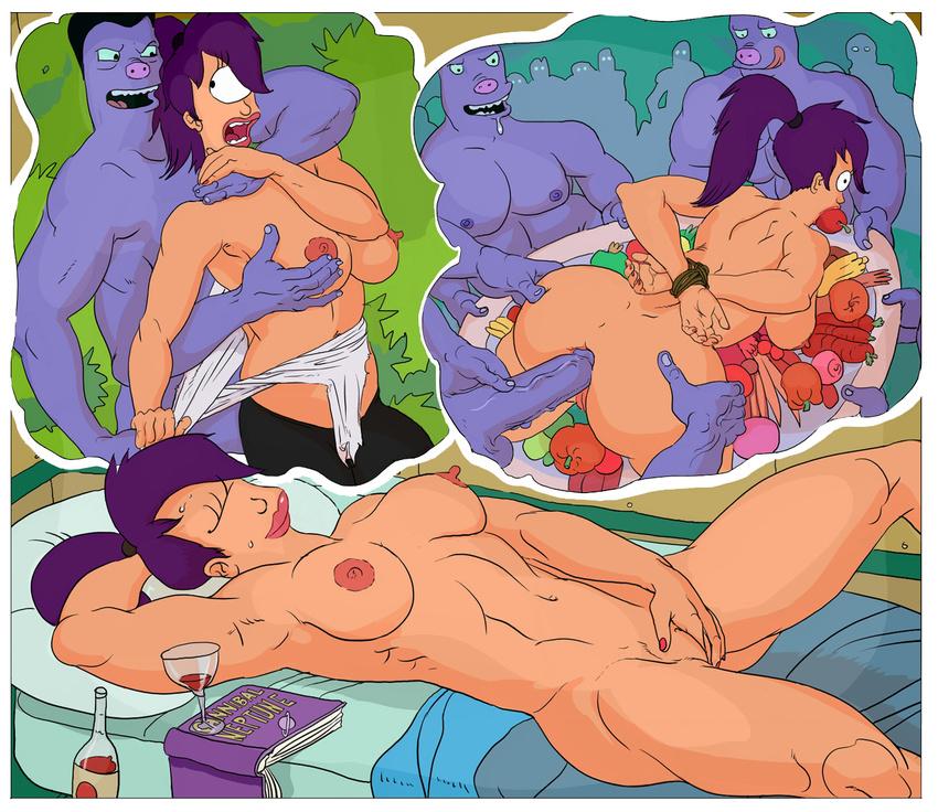 Порно комиксы туранга лила