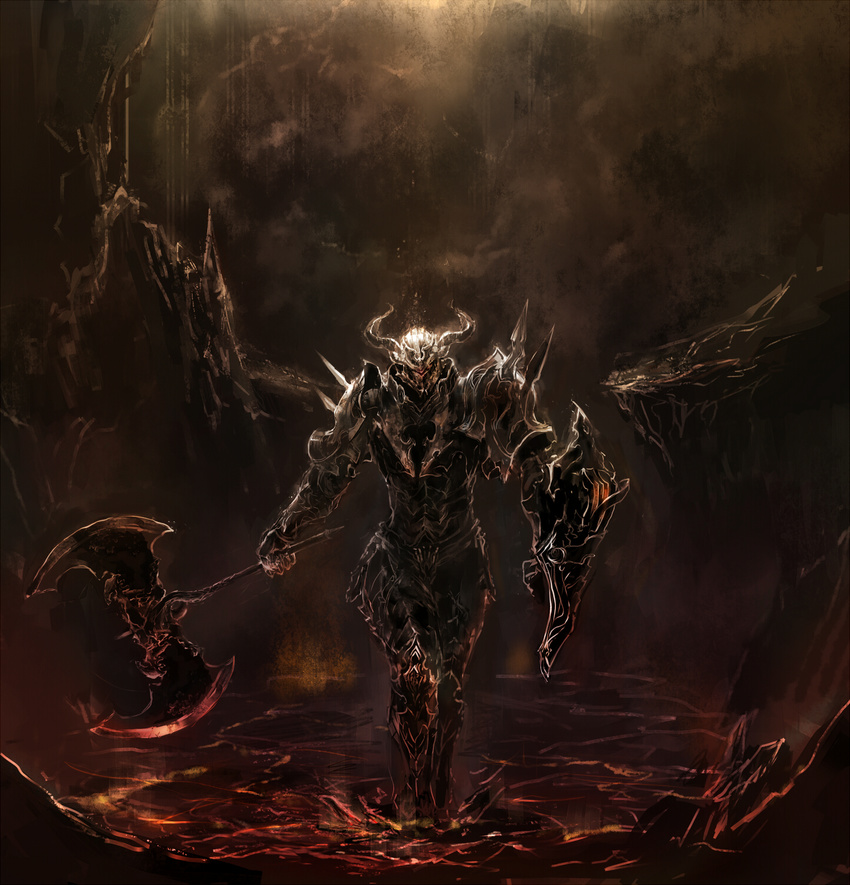 демонический рыцарь картинки можно
