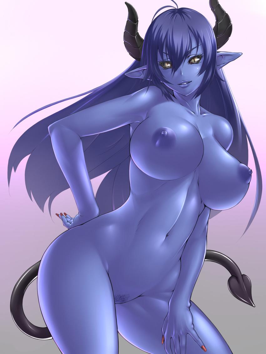 Hot anime demon girl having naked sex xxx scenes