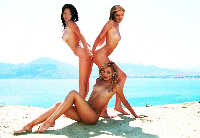 Charlie angels naked fakes, asin s girls naked in fur