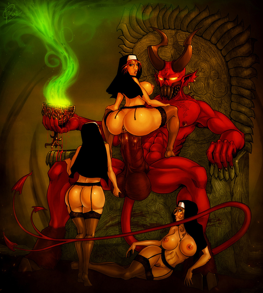 Demons having sexy with women sexy pic