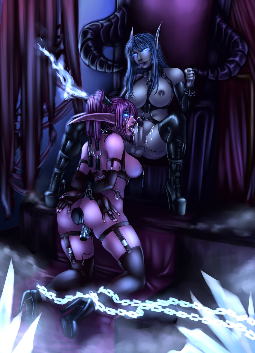 Night elf mistress porn hentia scene
