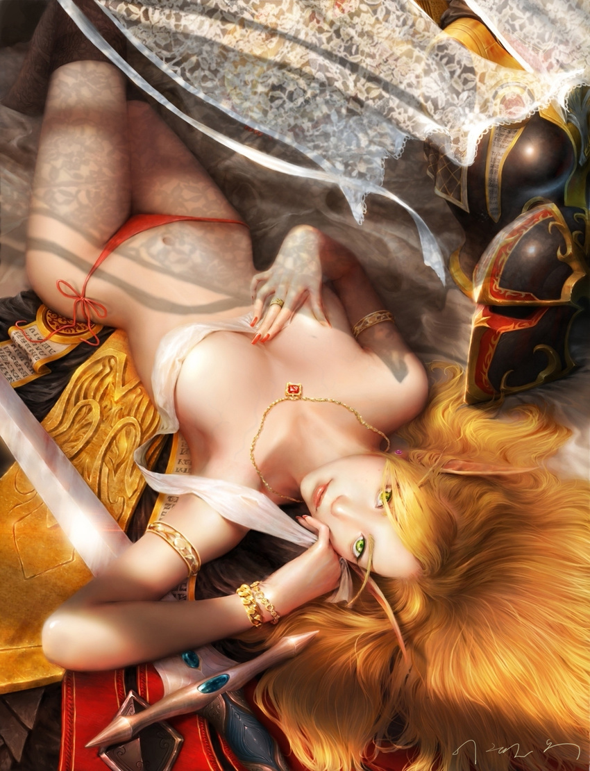 Hentai and blood elves erotic picture