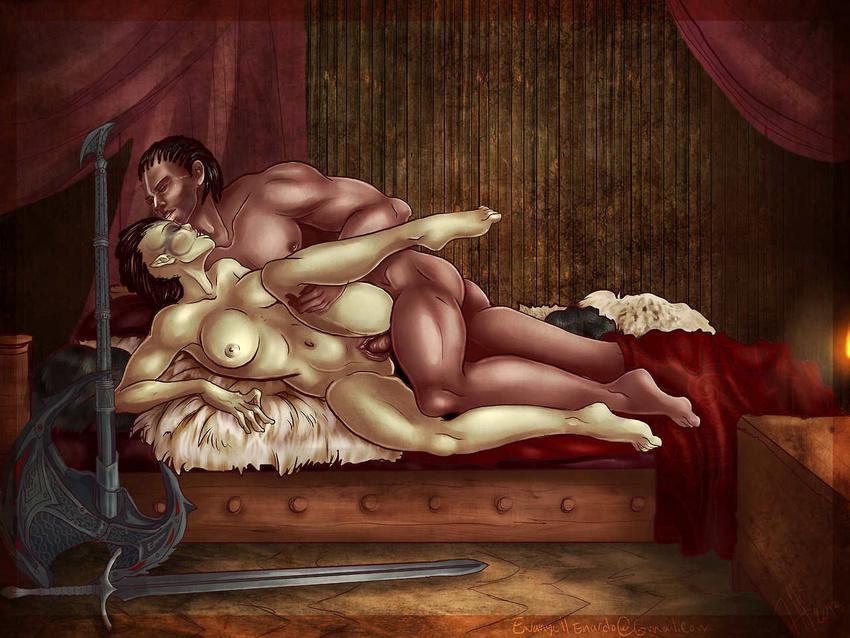 Порно арты skyrim