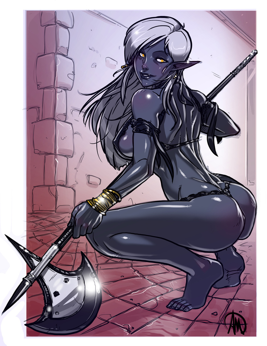 Dark elf vs orc hentai adult comic