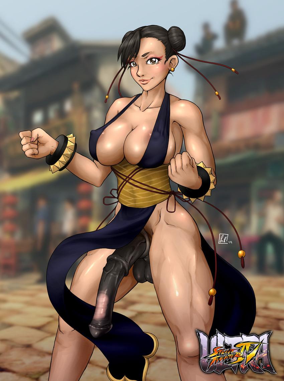 Street fighter iv chun li realistic nude  nude pic