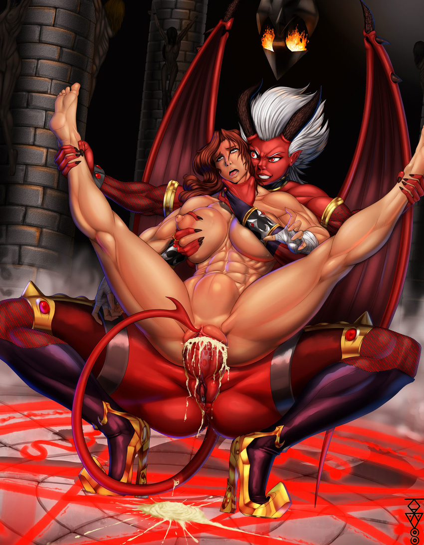 Anime female demon sex hentai image