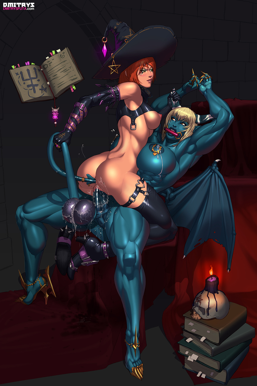 3d succubus in heels riding sexy image