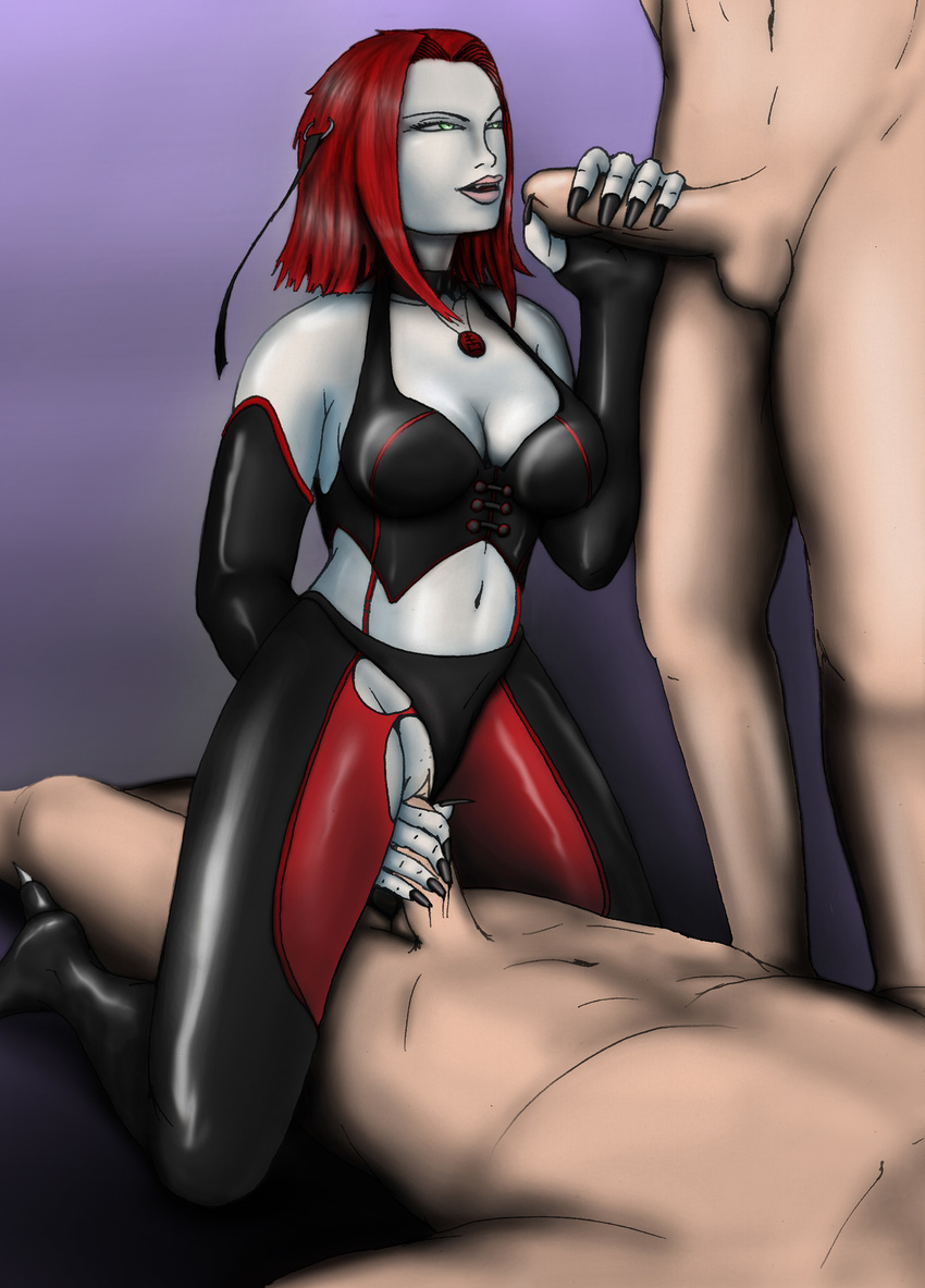 Cartoon blood rayne tits and pussy fucking doll