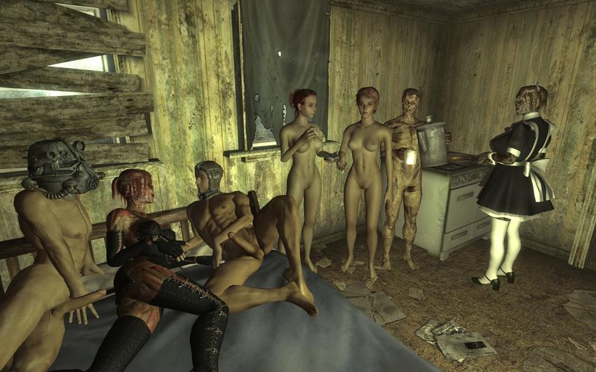 Fallout 3 Мод Проститутки