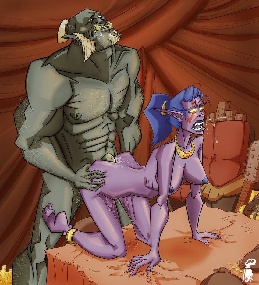 Orc and night elf porn fucking virgin